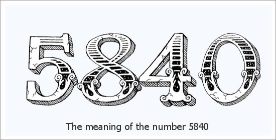 5840 Significado Espiritual do Número do Anjo