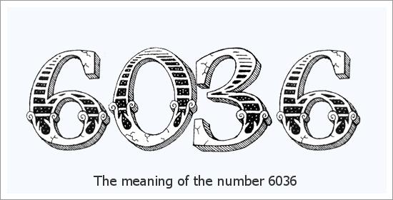 6036 Número do Anjo Significado Espiritual