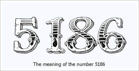 5186 Число ангела Духовное значение