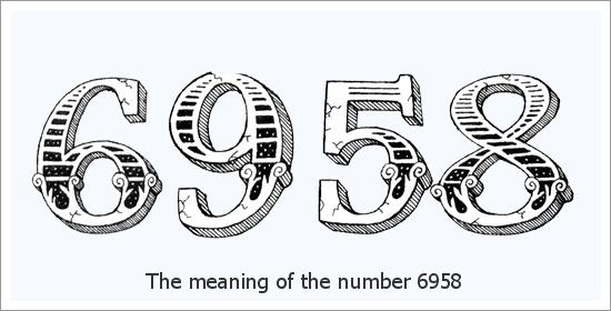 6958 Número do Anjo Significado Espiritual