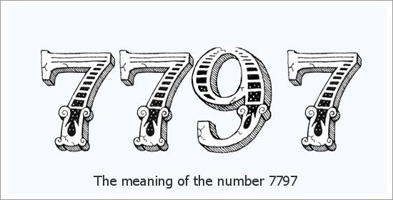 7797 Engelszahl Spirituelle Bedeutung