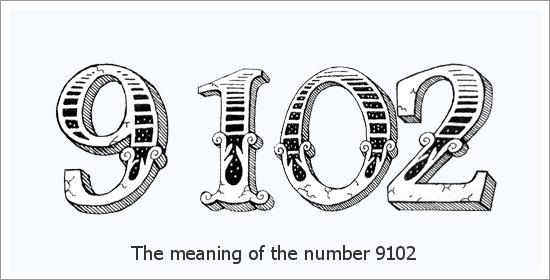 9102 Numer anioła Duchowe znaczenie