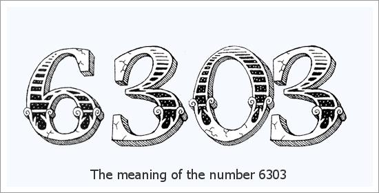 6303 Eņģeļa numura garīgā nozīme