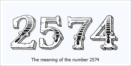 2574 Engelszahl Spirituelle Bedeutung