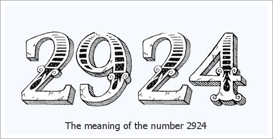 2924 Liczba aniołów Znaczenie duchowe