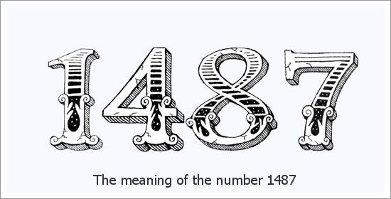 १४८७ एंजेल नंबर आध्यात्मिक अर्थ