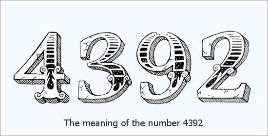 4392 จำนวนนางฟ้าความหมายทางจิตวิญญาณ Spirit
