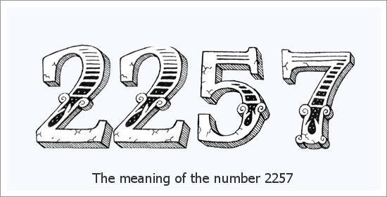 2257 Número do Anjo Significado Espiritual