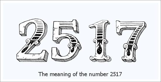 2517 เลขเทวดา ความหมายทางจิตวิญญาณ