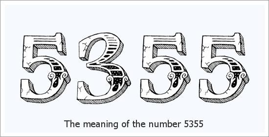 5355 Angel Number ความหมายทางจิตวิญญาณ