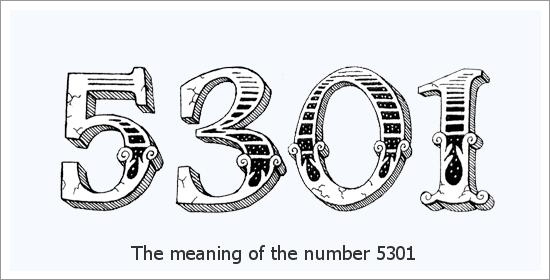 5301 Numer anioła Duchowe znaczenie