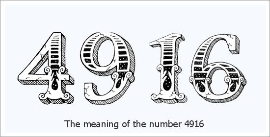 4916 เลขเทวดา ความหมายทางจิตวิญญาณ