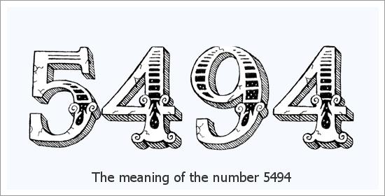 5494 Número do Anjo Significado Espiritual