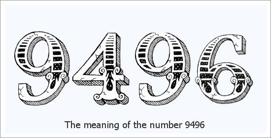 9496 Número do Anjo Significado Espiritual