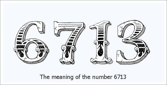 ६७१३ एंजेल नंबर आध्यात्मिक अर्थ