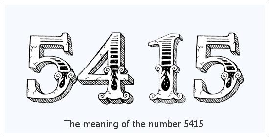 5415 Bilang ng Espirituwal na Kahulugan ng Anghel