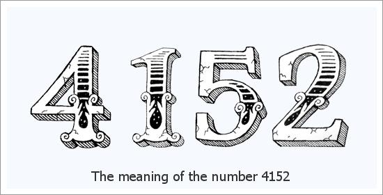 4152 Bilang ng Espirituwal na Kahulugan ng Anghel