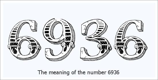 6936 ఏంజెల్ సంఖ్య ఆధ్యాత్మిక అర్థం