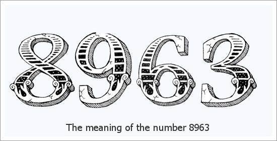 8963 Número do Anjo Significado Espiritual