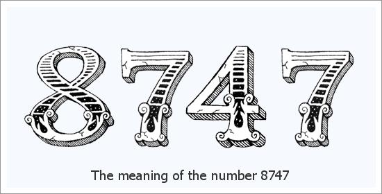 8747 ఏంజెల్ సంఖ్య ఆధ్యాత్మిక అర్థం