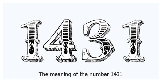 1431 Число ангел Духовно значение