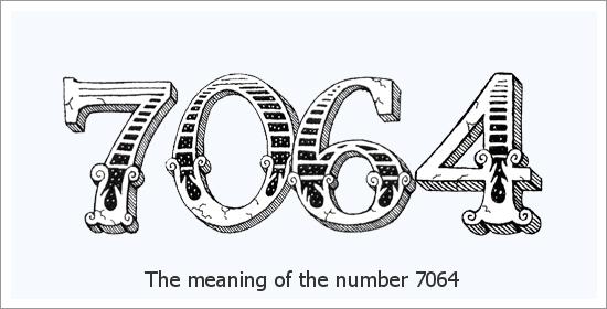 7064 Enkelinumeron henkinen merkitys