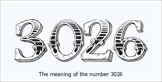 ३०२६ एंजेल नंबर आध्यात्मिक अर्थ