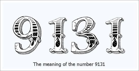 9131 Angel Number ความหมายทางจิตวิญญาณ