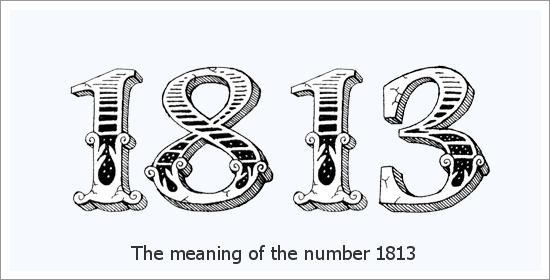 1813 Engelszahl Spirituelle Bedeutung