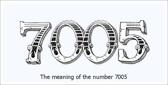 7005 Angelo skaičiaus dvasinė reikšmė