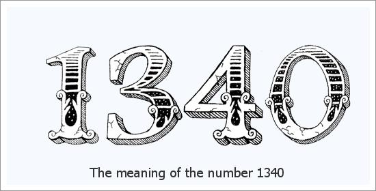 Significado espiritual do número do anjo 1340