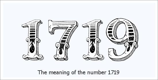 Significado espiritual do número do anjo 1719