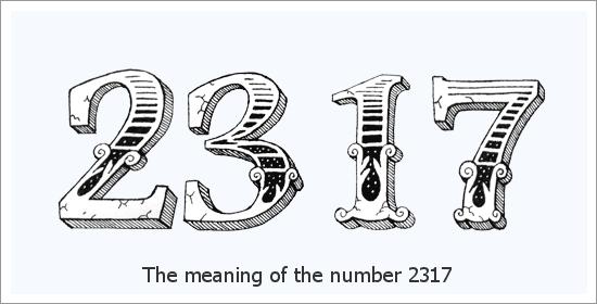2317 Significado Espiritual do Número do Anjo