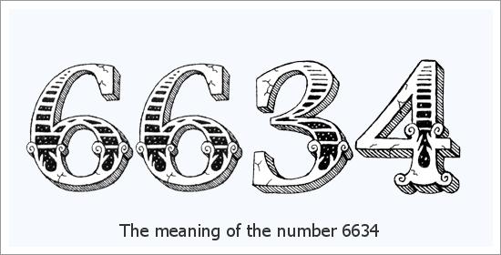6634 Ангелски номер Духовно значение