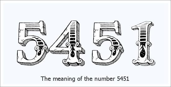 5451 Número do Anjo Significado Espiritual