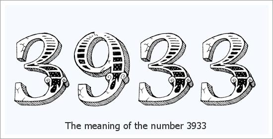 3933 Angelo skaičiaus dvasinė reikšmė