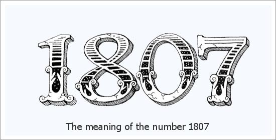 1807 Engelszahl Spirituelle Bedeutung