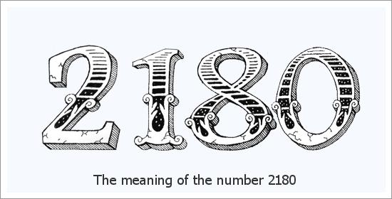 2180 Число ангел Духовно значение