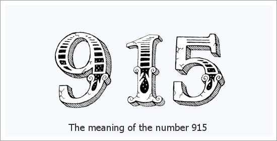 Significado espiritual do número do anjo 915