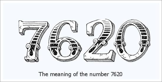 7620 ஏஞ்சல் எண் ஆன்மீக பொருள்