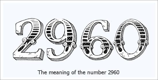 2960 Число ангела Духовное значение