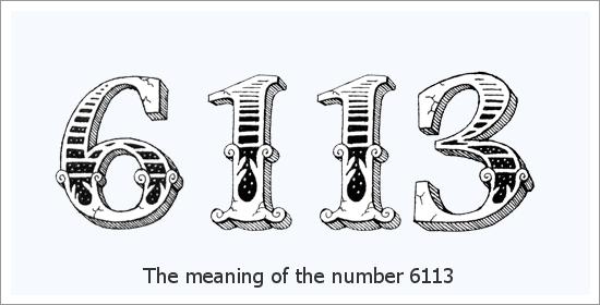 6113 Число ангела Духовное значение