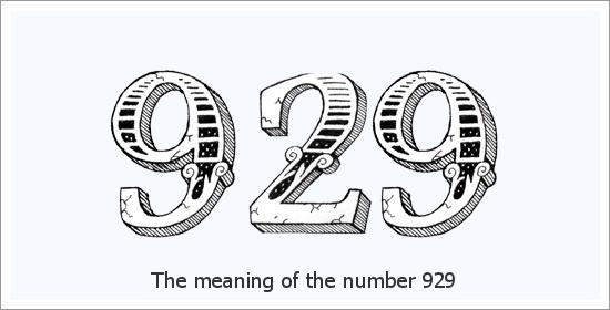 Significado espiritual do número do anjo 929