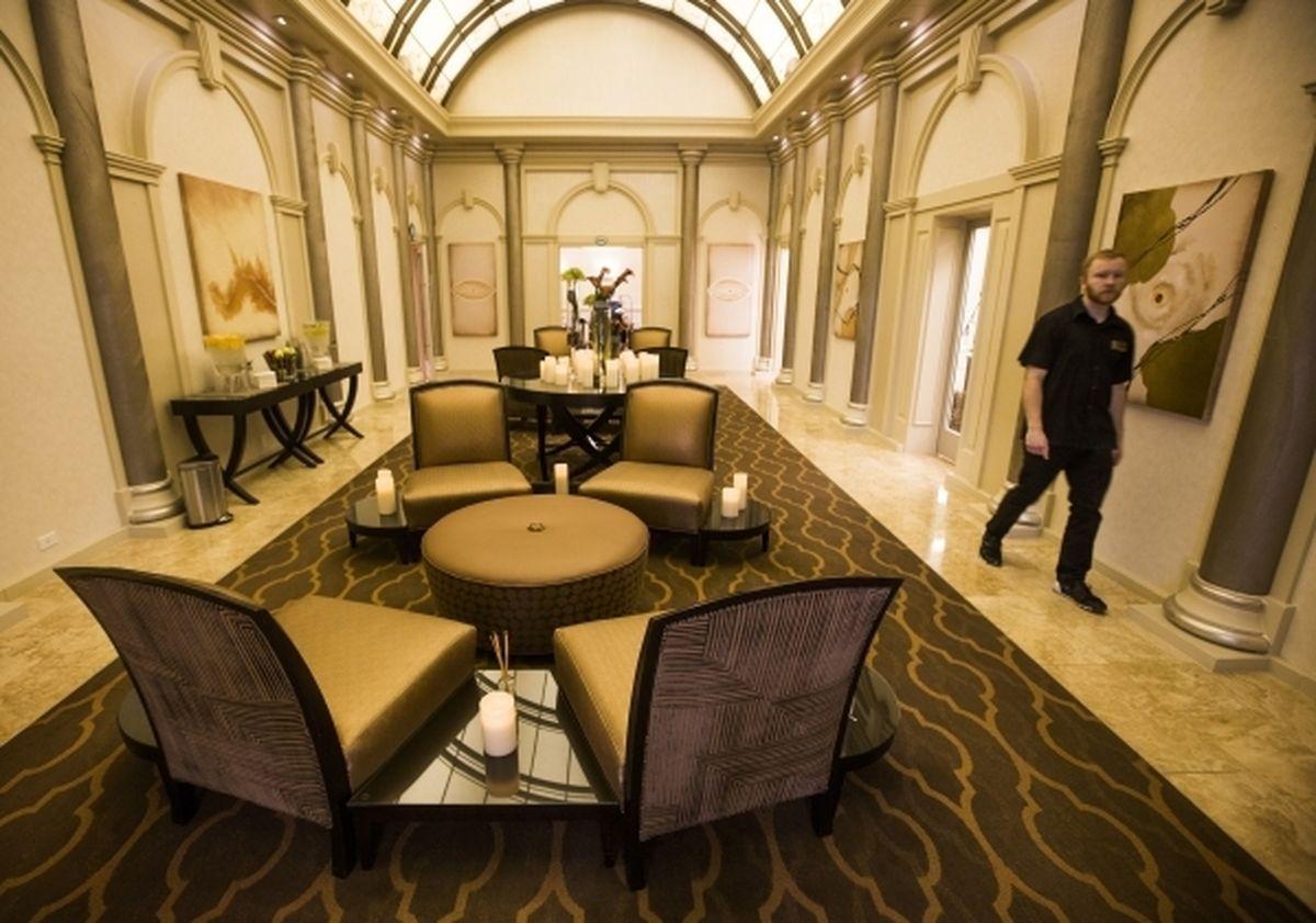 Golden Nugget completa grandes atualizações para spa e salão de beleza - FOTOS