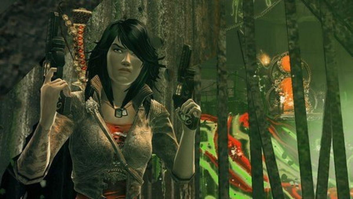 'Wet' Teil 'Kill Bill', Teil 'Tomb Raider