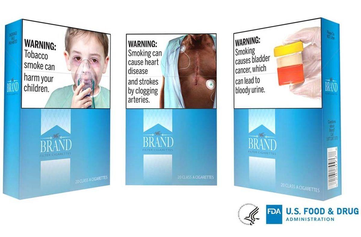 Rozpoczyna się nowy nacisk na graficzne etykiety ostrzegawcze na papierosach